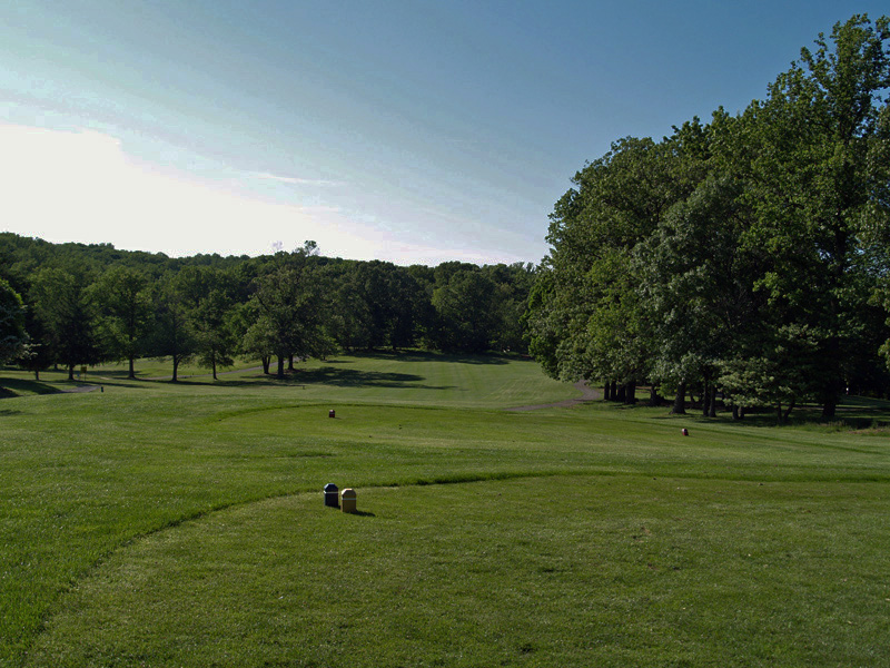 View of first hole from the tee. Click to enlarge