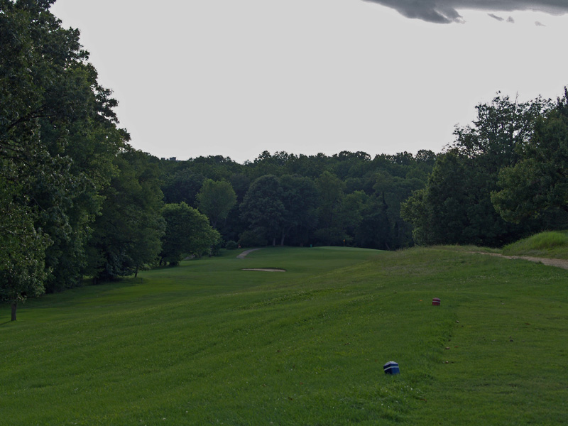 View of tenth hole from the tee. Click to enlarge