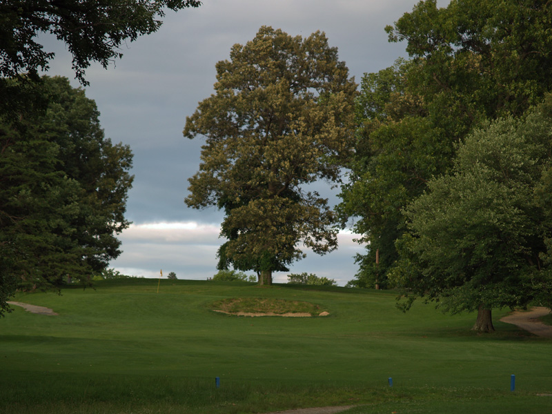 View of eighteenth hole from about 180 yrds. Click to enlarge