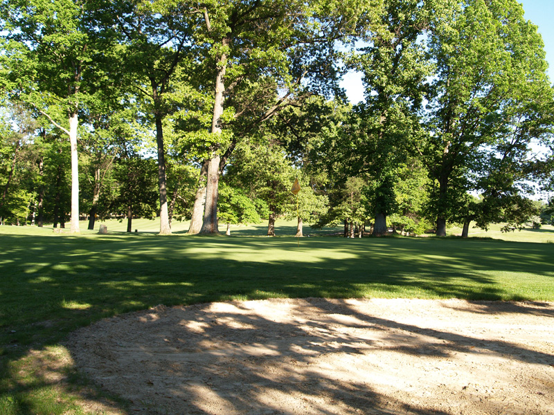 View of fourth hole from the right side near the green. Click to enlarge
