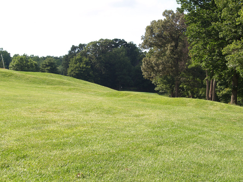 View of sixth hole toward the green from about 200 yrds. Click to enlarge